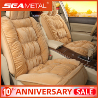 Car Seat Covers Plush Automobiles Seat Cover Interior Warm Seat Cushion For Winter Protector Cover Carpet Mats Auto Accessories|Automobiles Seat Covers| |  -