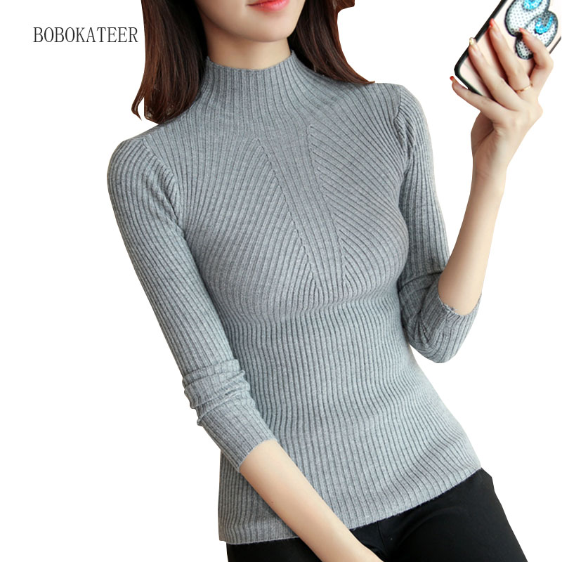 pull femme hiver christmas sweater women sweter damski clothes turtleneck knitted pullover nouveaute 2019