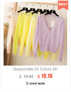 Queechalle 25 Color Autumn Knitted Cardigan Coat Women's V Neck Long Sleeve Casual Sweater Coats Female Clothes S- 4XL Plus Size 19