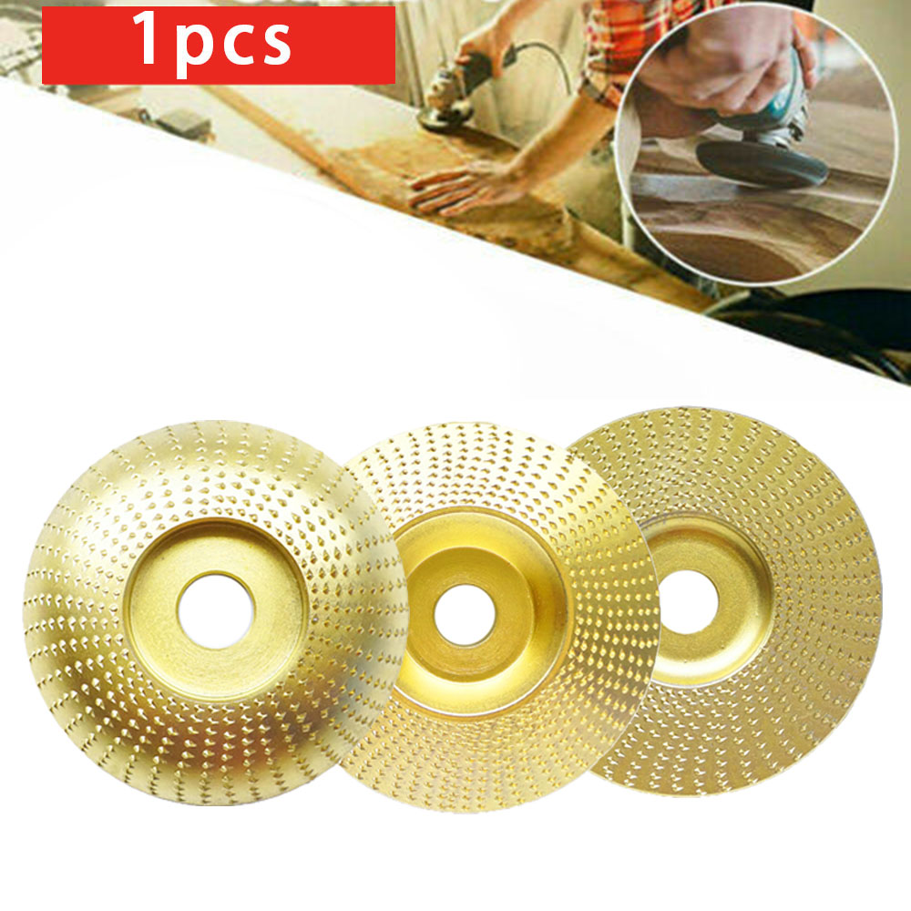 1Pcs High Quality New 110*22MM Carving Wood Angle Grinding Wheel Sanding Shaping Discs Blades For Angle Grinder Rotary Tool