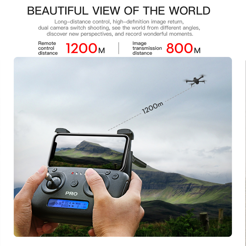 ZLRC SG906 / SG906 Pro 2 GPS Drone with Wifi FPV 4K Camera Three-axis anti-shake Gimbal Brushless Professional Quadcopter Dron 5