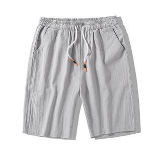 ZNG 2020 New Men's Shorts  Summer New Casual Summer Five-minute Pants Big Solid Color