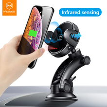 Mcdodo Qi Wireless Car Charger Stand Automatische Infrarood Clip Air Vent Mount Auto Telefoon Houder Fast Charger 10W Voor iphone Samsung