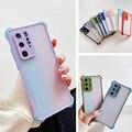 Противоударный силиконовый чехол для телефона na для vivo y73 y20 y50 y30 y30i u3 x23 x21 x27 x30 x 30 pro x50 x 50 pro матовый прозрачный чехол