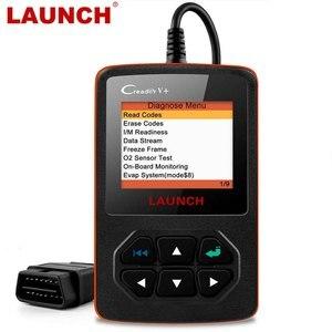 Image 1 - Launch X431 Creader V+OBD OBD2 skaner samochodowy, czytnik kodów błędu, wielojęzyczne menu, narzędzie diagnostyczne auta, auto skanowanie