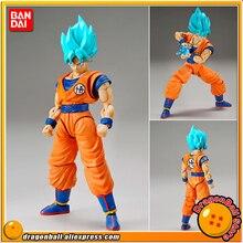 """Dragon Ball Super"" Originele Bandai Figuur Stijgen Standaard Vergadering Action Figure   Super Saiyan God Ss Son Goku"