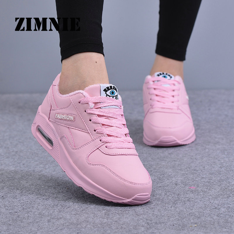 ZIMNIE Women Running Shoes Krasovki Womens Sneakers 2020 Sneakers Women Zapatillas Deportivas Mujer Running Shoes Pink Size 7.5
