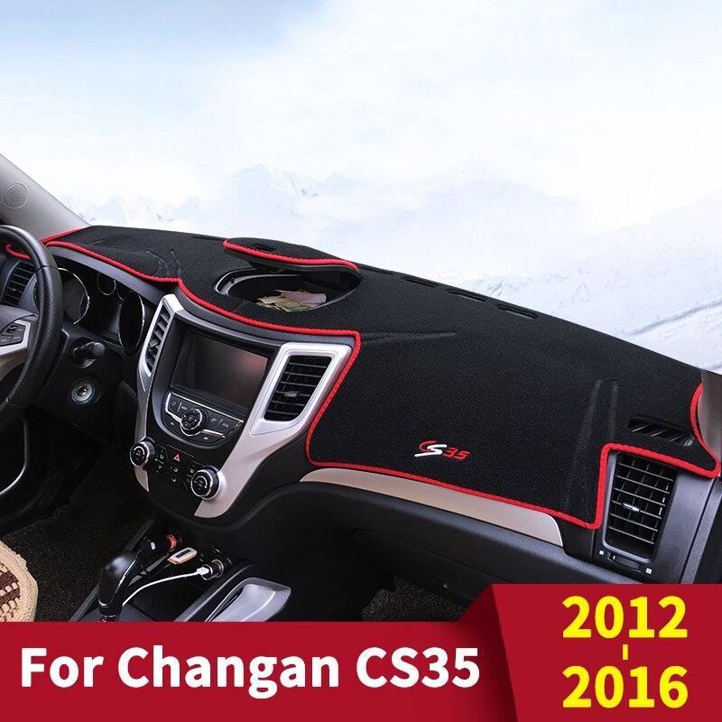 For Changan CS35 2012 2013 2014 2015 2016 Plus 2018 2019 Car Dashboard Cover Dash Mat Sun Shade Pad Carpets ANti-UV Accessories