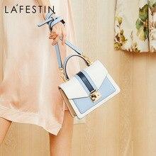 Женская кожаная сумка LA FESTIN, брендовая роскошная классическая сумка через плечо с геометрическим узором, 2019