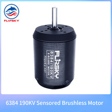 Belt Motor 6384 190KV 4000W DC Motor Shaft 8/10mm for Electric Skateboard E-Scooter Model Spare Parts 8mm Flipsky