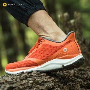 Image 4 - Youpin Zapatillas de correr Antelope para Xiaomi Amazfit, calzado deportivo inteligente de goma con Chip inteligente y Control por aplicación