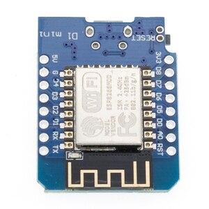 Image 5 - 10Pcs P8266 ESP 12 WeMos D1 Mini Module Wemos D1 Mini WiFi Development Board Micro USB 3.3V Based On ESP 8266EX 11 Digital Pin