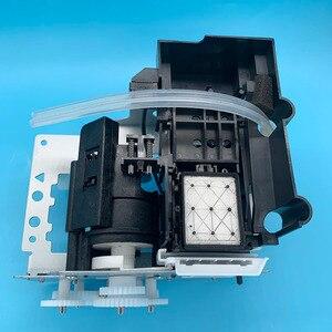 Image 3 - DX5 druckkopf Tinte Auf Wasserbasis Pumpe Montage Capping Station für Epson 7800 7880C 7880 9880 9880C 9800 Pumpe Einheit Reinigung einheit