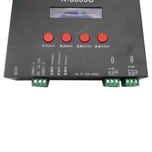 Image 4 - Cartão sd programável K 8000C dmx/spi, controlador do pixel do led; fora da linha; DC5 24V para rgb cor completa led pixel luz tira