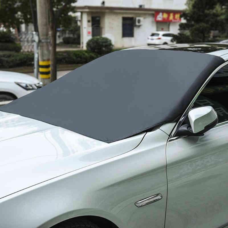 Protector solar Universal Anti-escarcha Anti-niebla para el coche, Protector de hielo magnético para el coche Luz Nocturna inteligente PIR inalámbrica 8 LED Auto gabinete pasillo detección de movimiento lámpara Sensor de movimiento luz nocturna batería