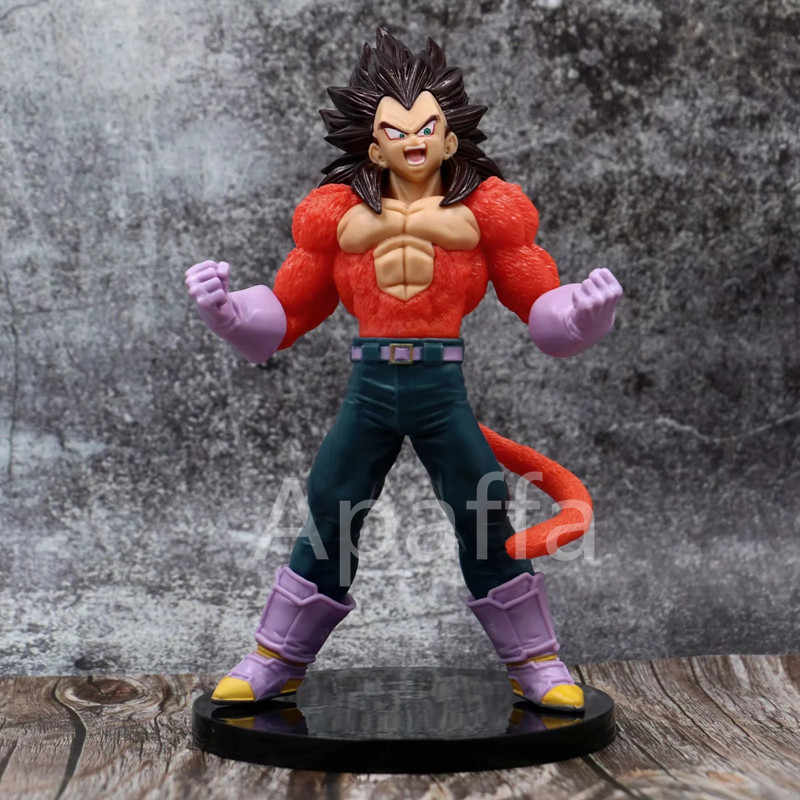 20cm aksiyon figürü oyuncakları dragon topu GT Goku Vegeta şekil Gogeta süper saiya SSJ4 Kamehameha PVC şekilli kalıp oyuncak hediye