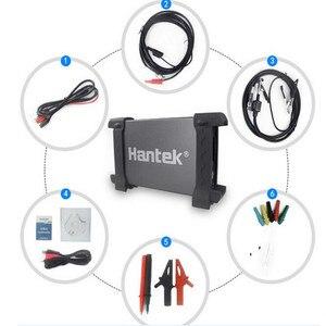 Image 2 - Hantek 6074BE oscyloskopy pamięć cyfrowa oscyloskopy USB do komputera przenośne oscyloskopy 2.0 interfejs 4CH 70MHZ wsparcie WIN10
