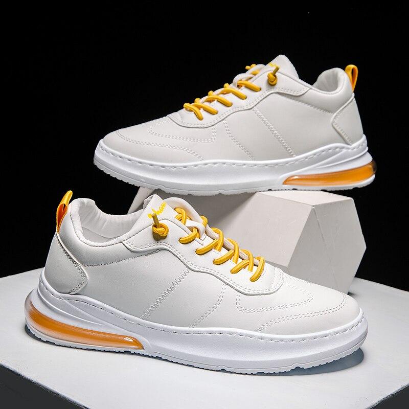 Light Air Cushion Men Running Shoes Men Sport Shoes Men Lace-up Breathable Shoes Men Jogging Walking Shoes Men Trainer Sneakers