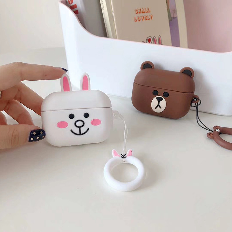Cute 3D Silicone Case for AirPods Pro 140
