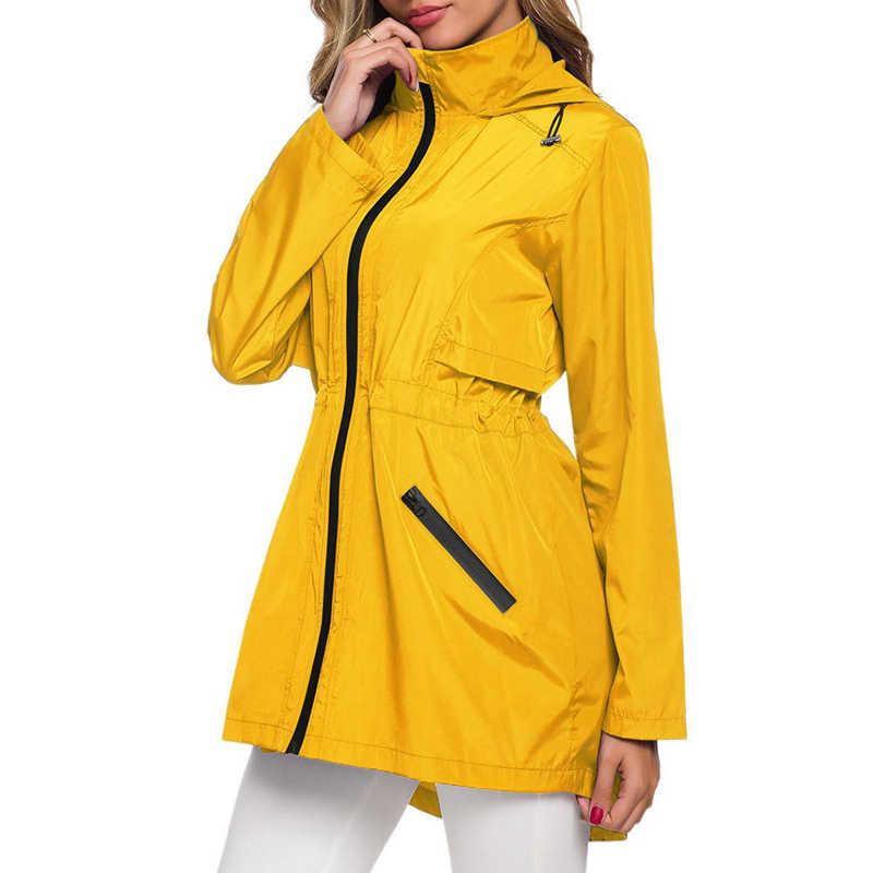 WENYUJH полиэстер женский плащ утолщенный водонепроницаемый дождевик женский прозрачный черный кемпинг водонепроницаемый дождевик мужской пиджак-блейзер