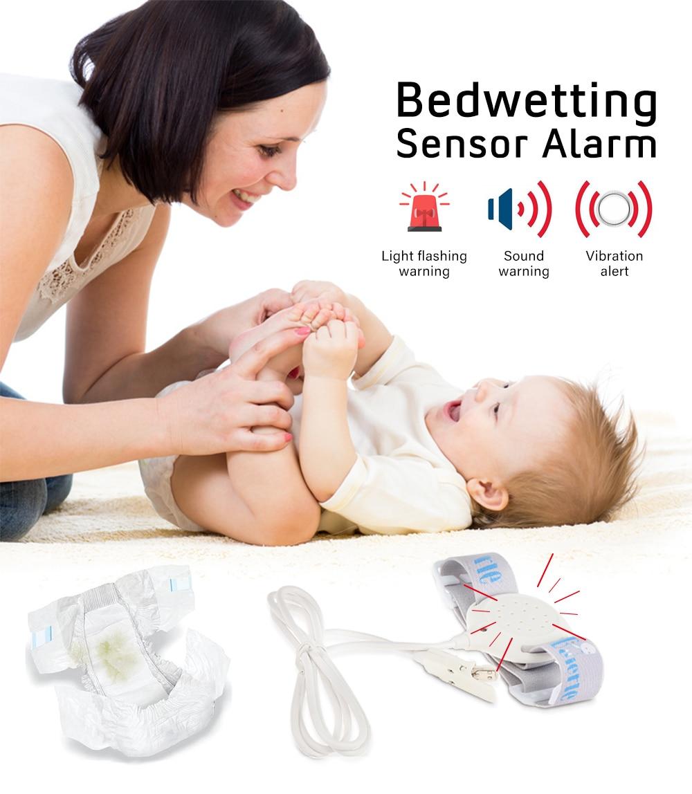 Bed Wetting Sensor Alarm Wet Reminder Convenient Professional Baby Sensor For Baby Kids Potty Training Adults Sleeping Enuresis