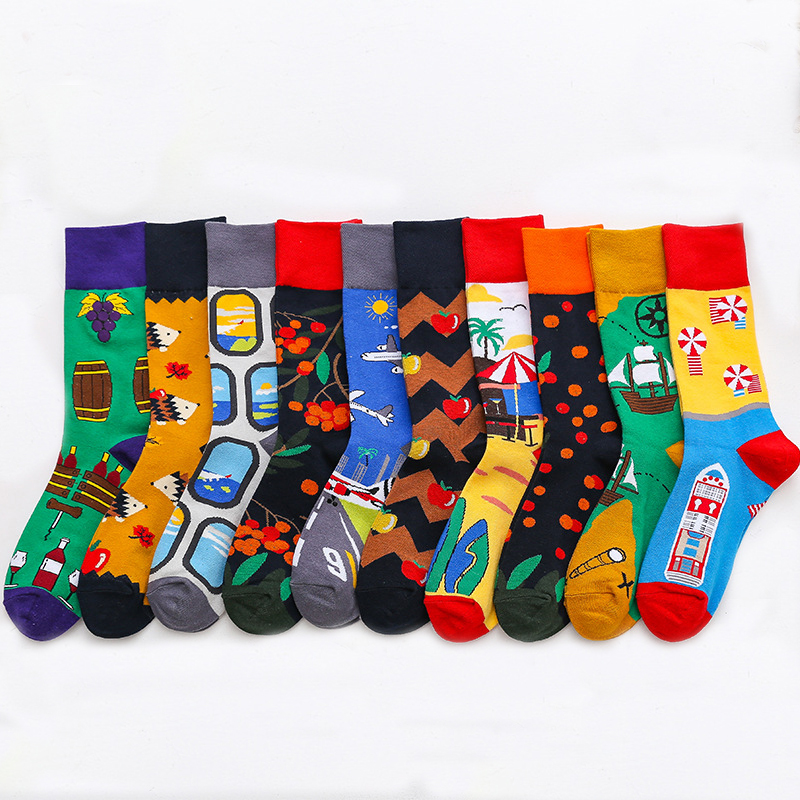 Unisex Funny Pill Socks Cotton 3D Print Adult Ankle Long Cool Crazy Sock 1 Pair