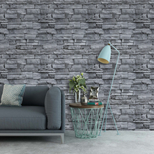 купить 0.45mx6m/Roll Vintage Brick Wallpaper 3d Self Adhesive Contact paper Hotel living room Kitchen Bedroom home wall Decoration по цене 941.15 рублей