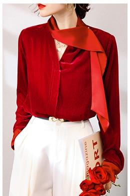 de seda feminina alta qualidade manga longa