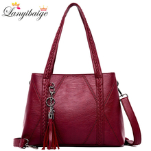 Brand Luxury Handbags Women Bags Designer Lady Shoulder Bag PU Leather Handbag High Capacity Crossbody Bags for Women New