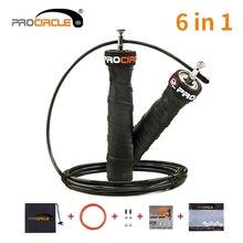 Скакалка для кроссфита пропускает скорость и взвешенные скакалки с дополнительной скоростью кабельный шар подшипники противоскользящая ручка для двойных отбойников
