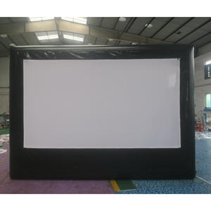 Inflatable-Screen Projector Outdoor-Advertising 16:9