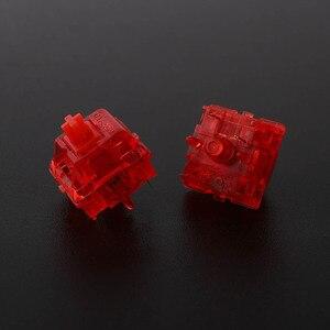 Image 3 - Gateron interruptores de tinta v2, carcasa de smokey transparente, azul, amarillo, rojo, negro, silencioso, Teclado mecánico, interruptor personalizado de 5 pines