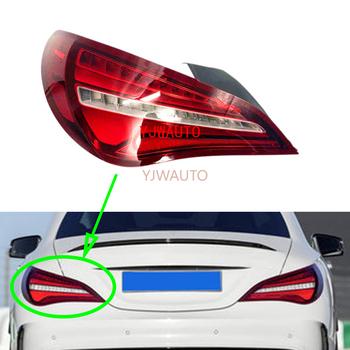Montaż świateł hamowania dla mercedes-benz cla-class W117 CLA200 CLA250 CLA260 CLA280 światło tylne samochodu tylny kierunkowskaz lampa Stop tanie i dobre opinie YJWAUTO CN (pochodzenie) Zespół światła tylnego SZ M049 000inch Brak 12 v Plastic Czerwony Tail Light Tail Light Assembly