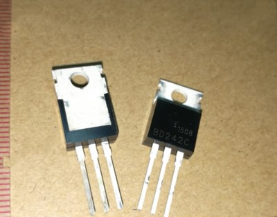 10Pcs/ lot <font><b>BD242C</b></font> BD242 242 TRANS PNP 100V 3A BIPO TO-220 Original Product image