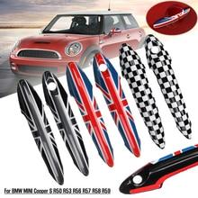2 sztuk samochodów stylizacja zewnętrzna pokrywa do klamki wykończenia ABS pasuje do BMW dla MINI Cooper S R50 R53 R56 R57 R58 R59