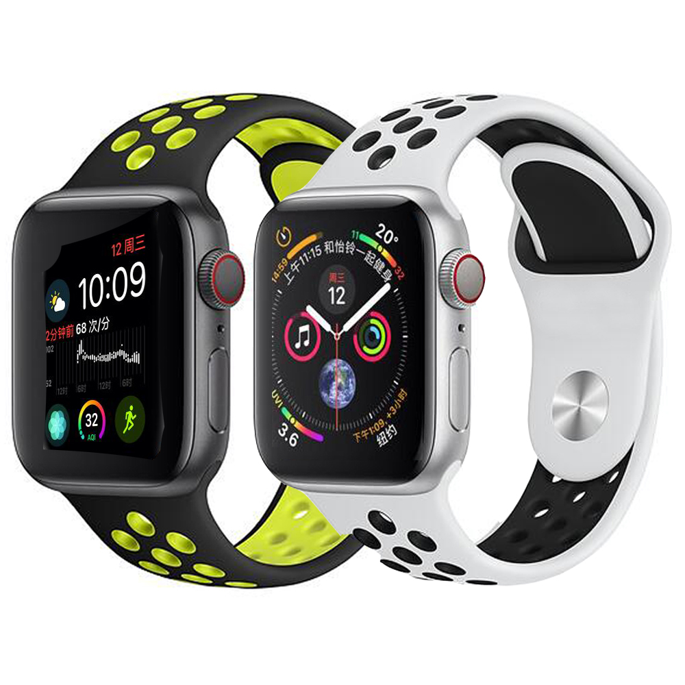 Big Sale Sport Silicone Band Strap For Apple Watch 42mm 38mm 40mm 44mm Bracelet Wrist Band Watch Watchband For Iwatch 4/3/2/1