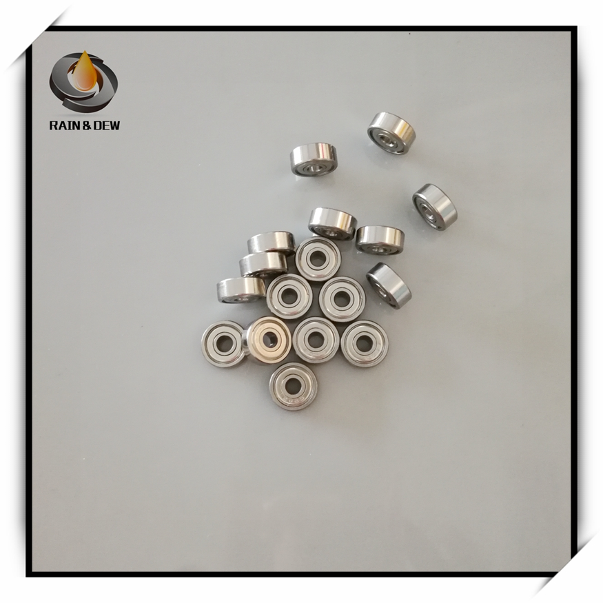 10 PCS 440c Stainless Steel Ball Bearing 696ZZ 6*15*5 S696ZZ 6x15x5mm