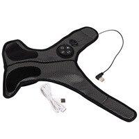 Masajeador eléctrico de pulso de tobillo, dispositivo de vibración, calefacción, acupuntura para pies, puntos de masaje, alivio del dolor muscular
