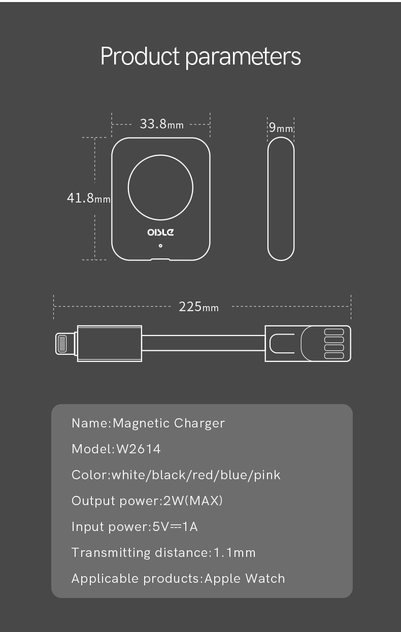 Mini Charge sans fil pour Apple Watch