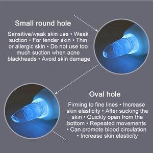 Image 5 - Ag máquina de descamação de cravos a vácuo, dispositivo de remoção de acne cicatrizes, massagem facial