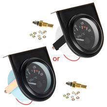 Автомобильные аксессуары универсальный 52 мм светодиодный светильник автомобильный указатель температуры масла датчик температуры 50-150
