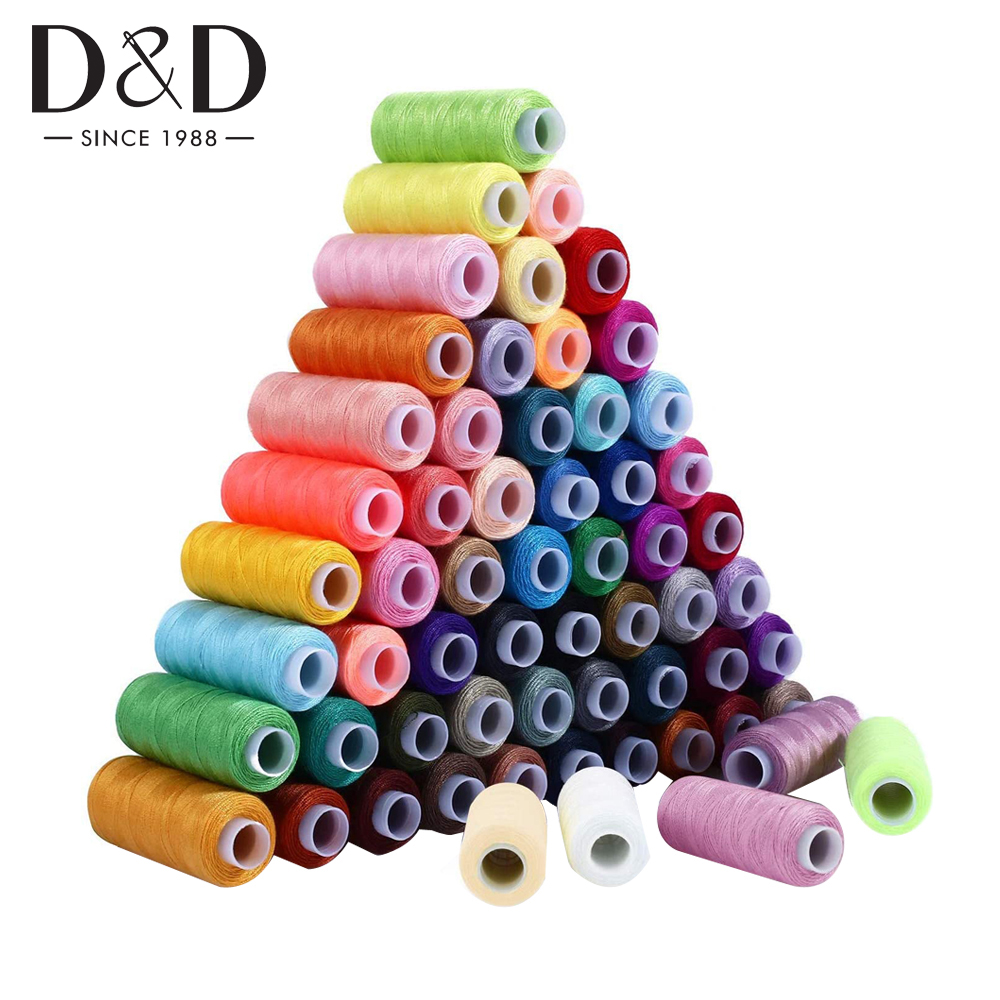 D&D 30/60 Spools Polyester Thread 250 Yards Sewing Threads Kits for Needlework Quilting Hand Sewing/Machine Sewing Supplies|Sewing Tools & Accessory|   - AliExpress
