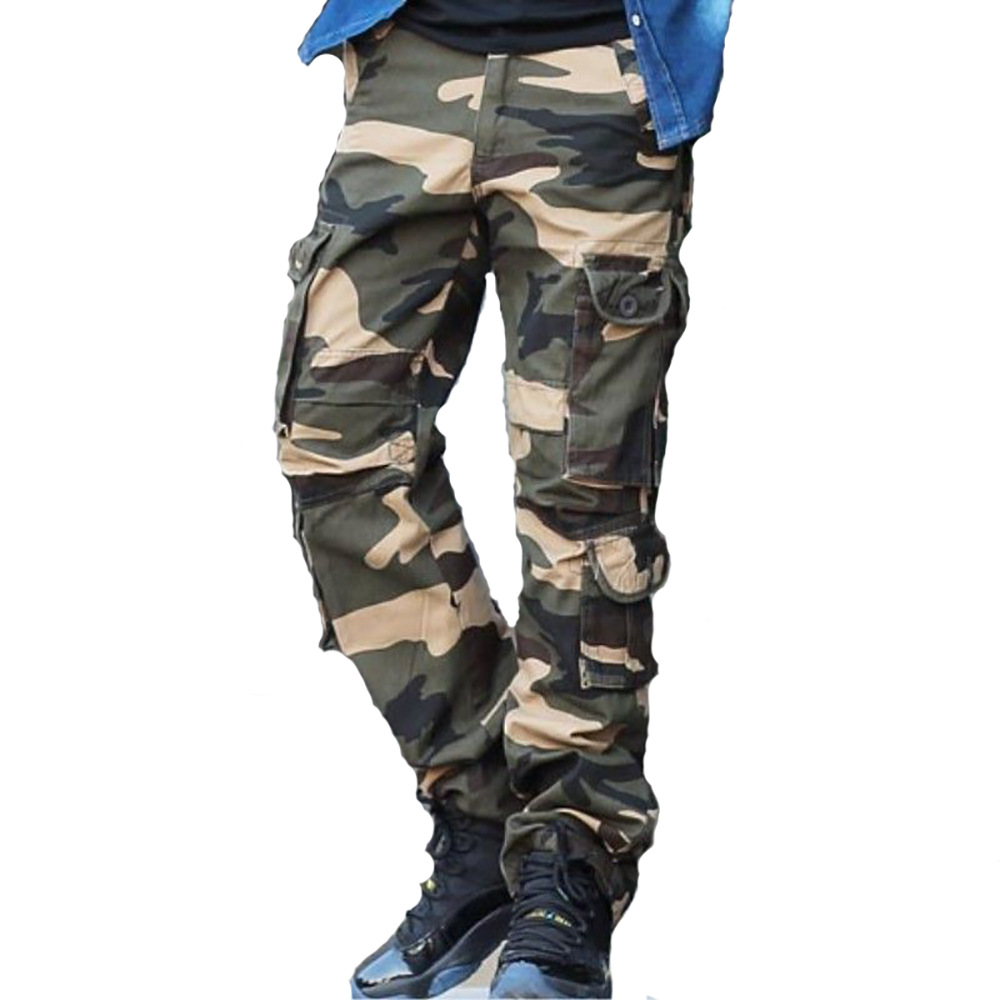 Camouflage Bib Overall Outdoor Camouflage Pants Uniforms Camouflage Pants Large Size Long Pants Recruit