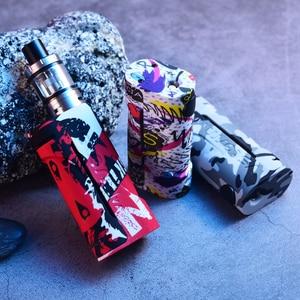 Image 3 - Vapor Storm Eco Elektronische Sigaret Kit Max 90W Tank 2.0 Ml Graffiti Bypass Doos Mod Vape 510 Ondersteuning Rda rdta Zonder Batterij