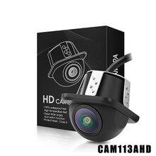 AHD 12V Nachtsicht Auto Front View Fisheye Len 180 Grad Weitwinkel Auto Rückansicht Kamera 720P HD Überwachung Rückfahr Kamera