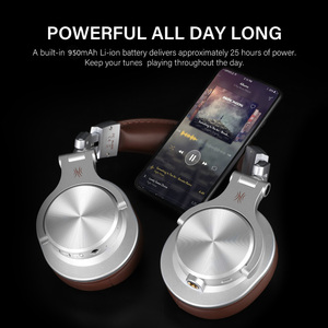 Image 4 - Oneodio Fusion Wired + Wireless Bluetooth Headphones For Phone Mic Over Ear Studio DJ Headphone Professional Recording Headset