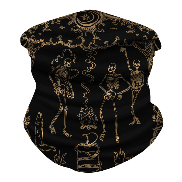 Skull Bandana Face Mask  5