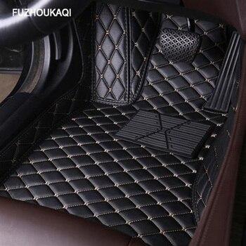 Кожаные автомобильные коврики для Opel, все модели Astra h j g mokka insignia Cascada corsa adam ampera Andhra zafira, стильный напольный коврик