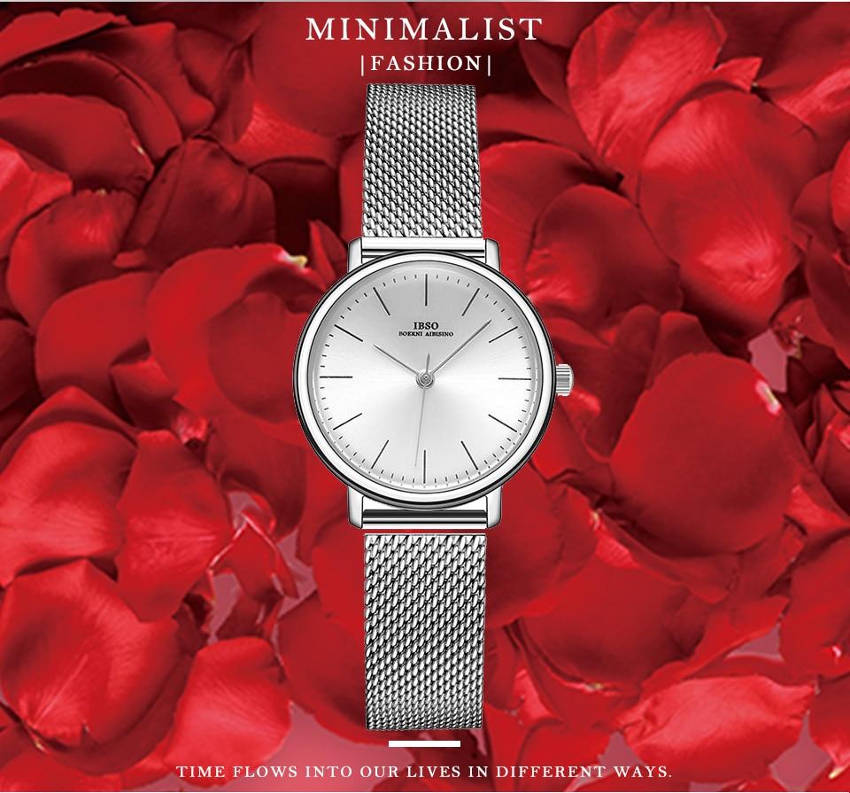 Ensemble bijoux Femme montre cristal Design Bracelet collier 2