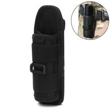 Tactical Flashlight Pouch 360 Rotable Belt Holster for UC30 UC35 G2 501B/502B/XTAR TZ20 Torch